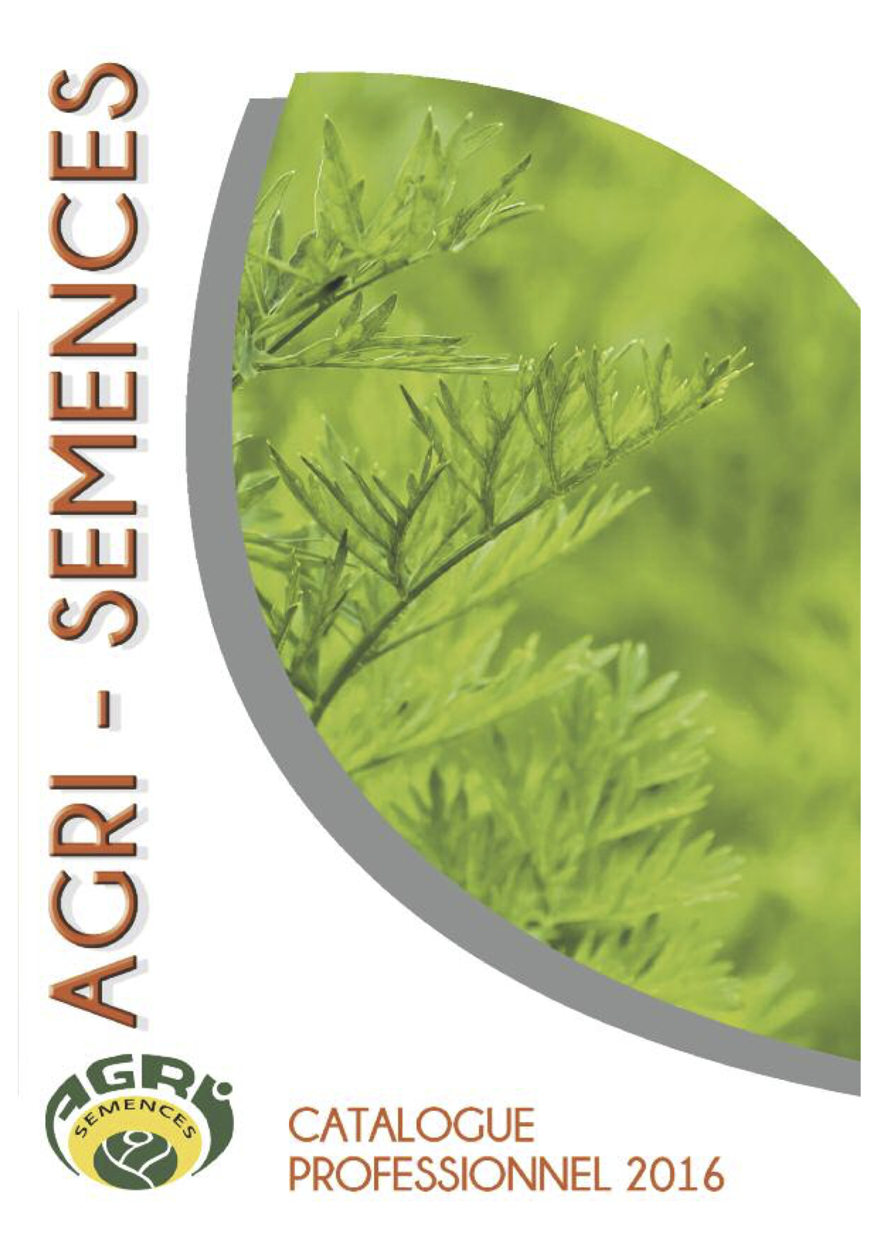 agri-semences -  catalogue 2016