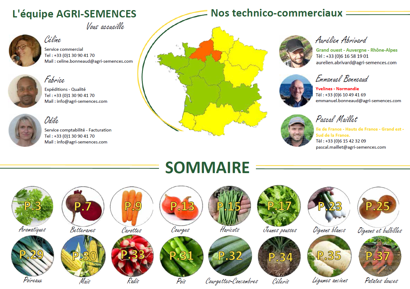 agri-semences -  catalogue 2020